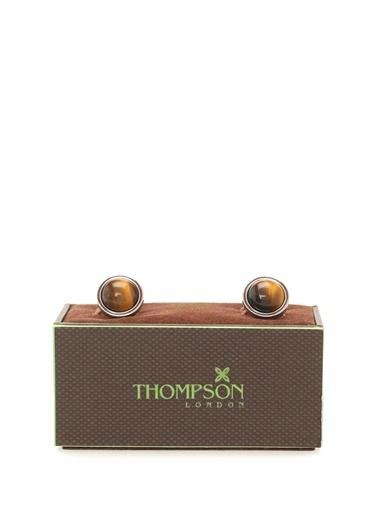 Thompson Kol Düğmesi Kahve
